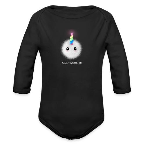 Calmicorne - Body bébé bio manches longues