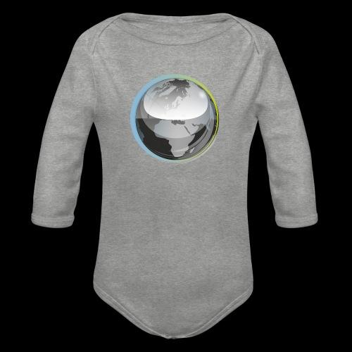 beeldmerk puretrance transparant png - Organic Longsleeve Baby Bodysuit