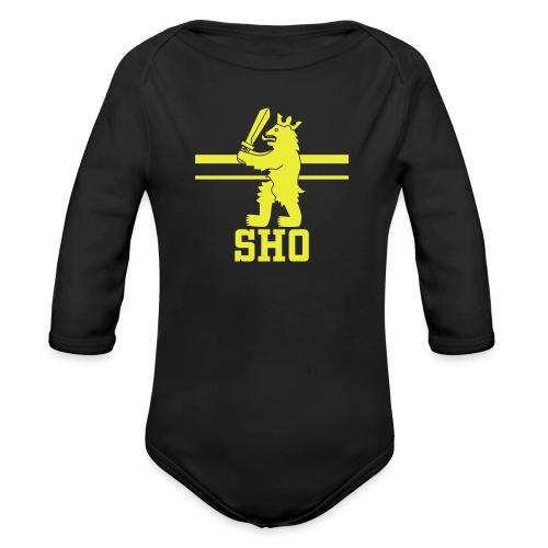 SHO Satakunta - Vauvan pitkähihainen luomu-body