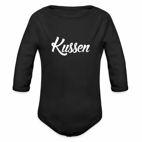 Kussen.website kussensloop - Baby bio-rompertje met lange mouwen