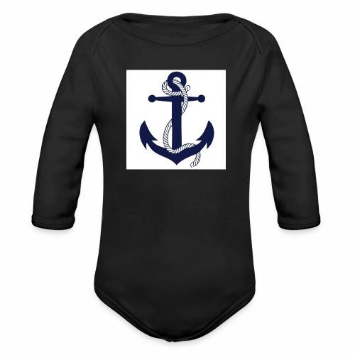 Anchor4 - Organic Longsleeve Baby Bodysuit
