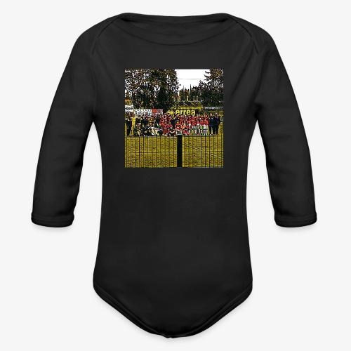 Footbal Match Squadre Calcio - Body ecologico per neonato a manica lunga