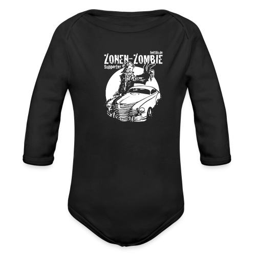Zonen Zombie Supporter Shirt - Baby Bio-Langarm-Body