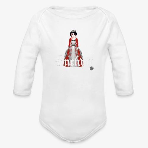 Snehvit - Økologisk langermet baby-body