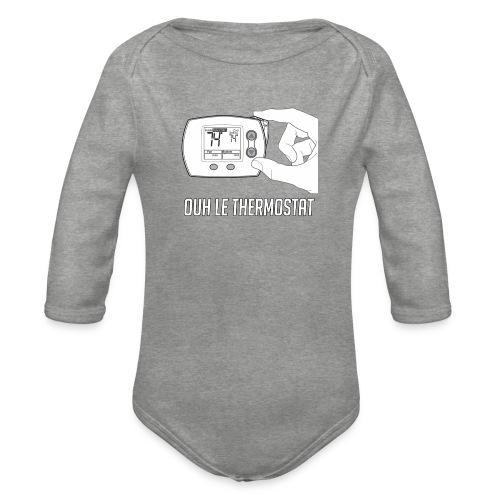PCLP2 - Body Bébé bio manches longues