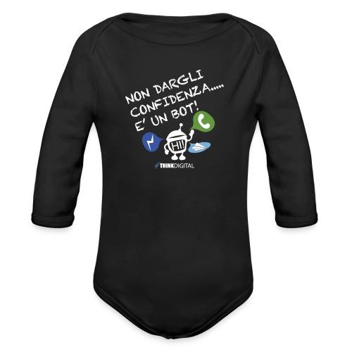BOT - Body ecologico per neonato a manica lunga