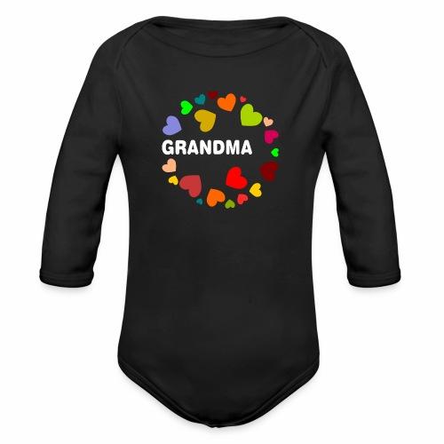 Grandma - Baby Bio-Langarm-Body