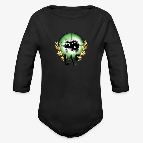 Load Aim Fire Merchandise - Baby bio-rompertje met lange mouwen