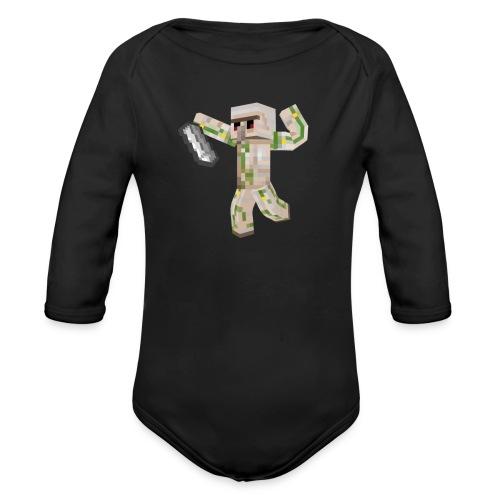 Starka GolemGamingYT - Ekologisk långärmad babybody