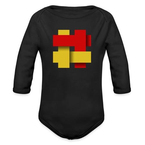 The Kilted Coaches LOGO - Organic Longsleeve Baby Bodysuit