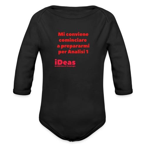 mi conv - Body ecologico per neonato a manica lunga