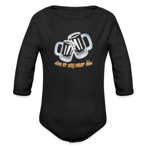 Doe er nog maar een Shirt png - Baby bio-rompertje met lange mouwen