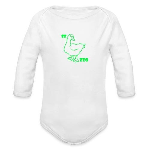 REBUS...STOCAZZO - Body ecologico per neonato a manica lunga