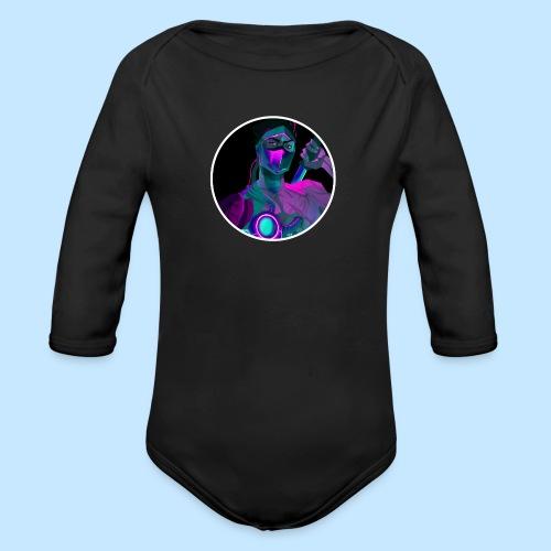 Neon Genji - Organic Longsleeve Baby Bodysuit