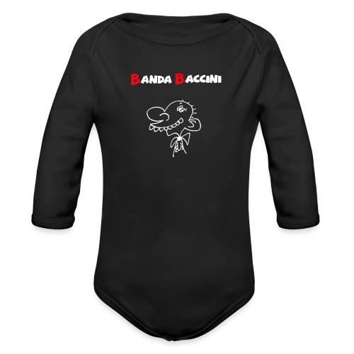 Banda Baccini. - Body ecologico per neonato a manica lunga