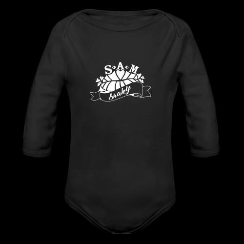 SamShaky - Vauvan pitkähihainen luomu-body
