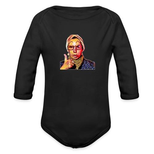 Madam2 - Organic Longsleeve Baby Bodysuit
