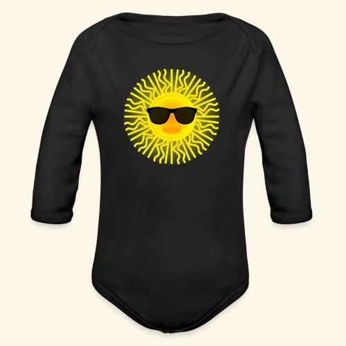 Sol de Canarias - Body orgánico de manga larga para bebé