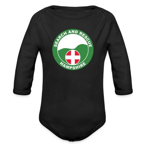 HANTSAR roundel - Organic Longsleeve Baby Bodysuit