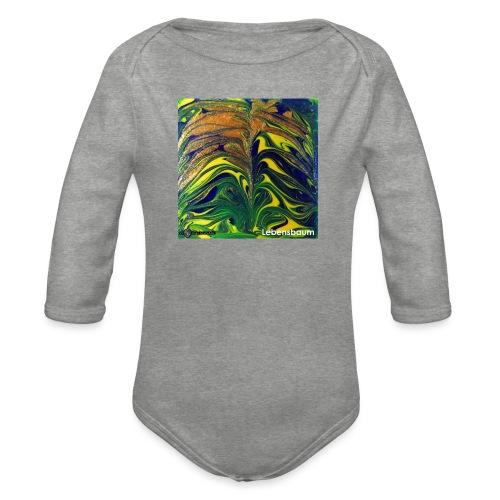 TIAN GREEN Mosaik DE029 - Lebensbaum - Baby Bio-Langarm-Body