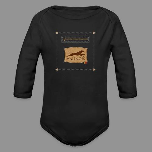Belgian shepherd Malinois - Organic Longsleeve Baby Bodysuit
