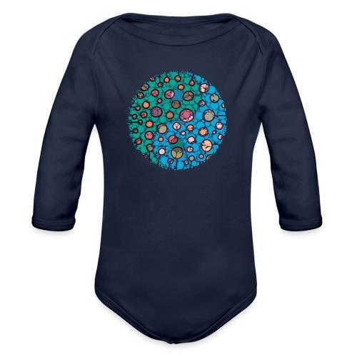 Yin Yang - Organic Longsleeve Baby Bodysuit