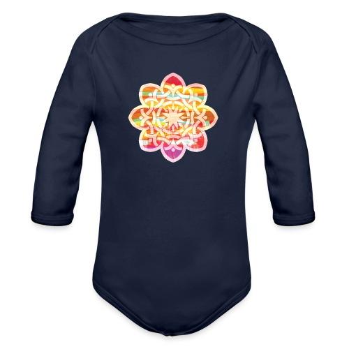 Celtic Star - Organic Longsleeve Baby Bodysuit