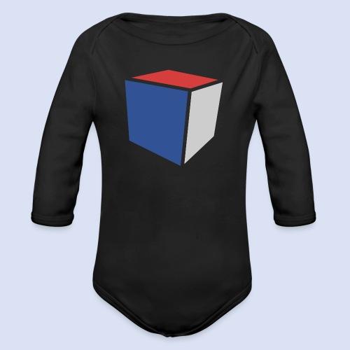 Cube Minimaliste - Body Bébé bio manches longues