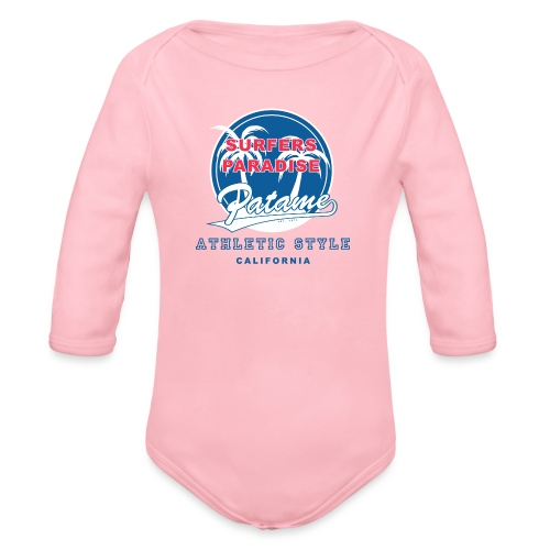 Surfers Paradise Athletic Blue - Baby Bio-Langarm-Body