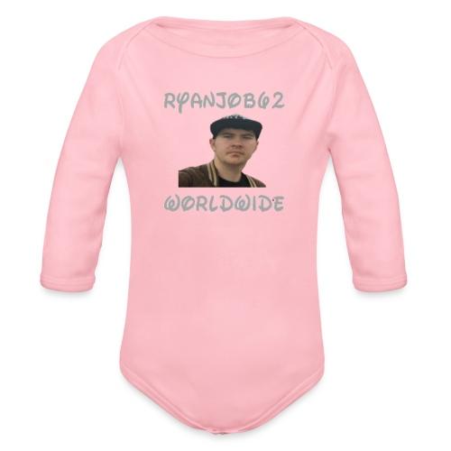 Ryanjob62 Worldwide - Organic Longsleeve Baby Bodysuit