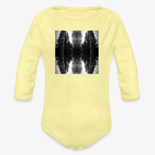 Riihi - Vauvan pitkähihainen luomu-body