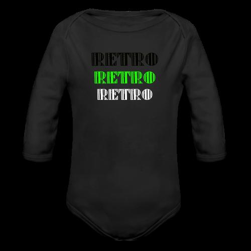 Retro Collections - Økologisk langermet baby-body