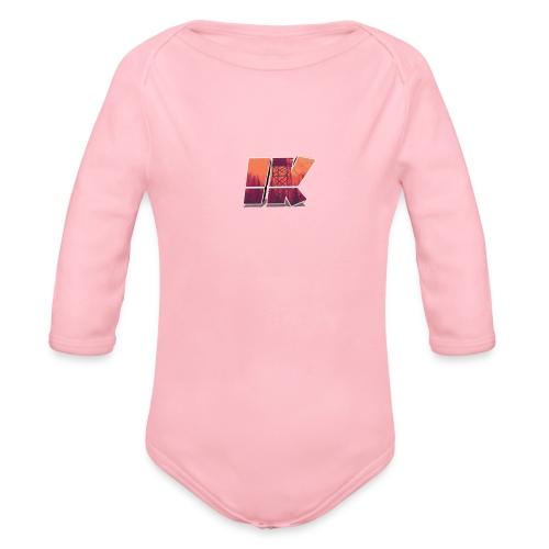 Ishaan Kulkarni Logo (1) - Organic Longsleeve Baby Bodysuit