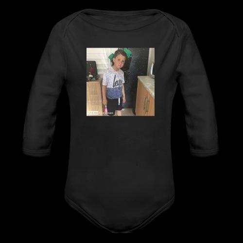 IMG 0463 - Organic Longsleeve Baby Bodysuit
