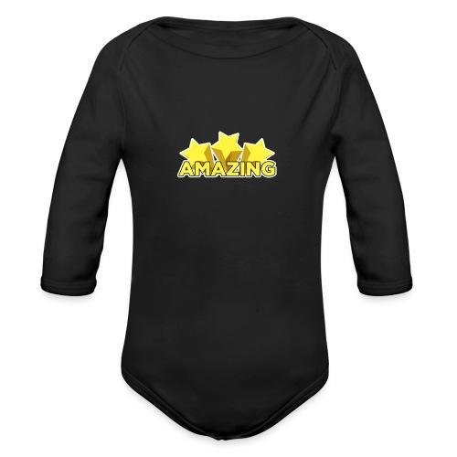 Amazing - Organic Longsleeve Baby Bodysuit