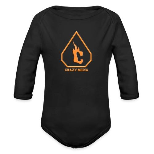 Crazy Media - Organic Longsleeve Baby Bodysuit