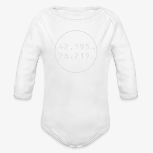 RUN w - Ekologiczne body niemowlęce z długim rękawem