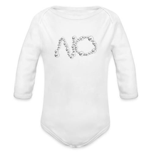 No Meme - Body ecologico per neonato a manica lunga