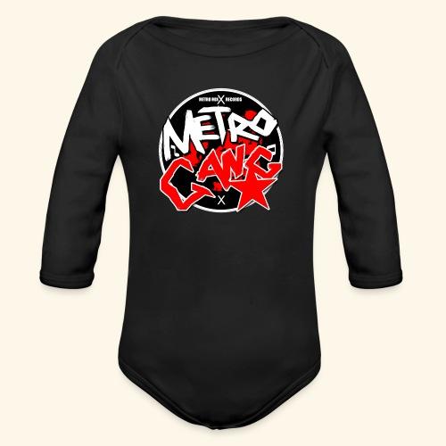 METRO GANG LIFESTYLE - Organic Longsleeve Baby Bodysuit