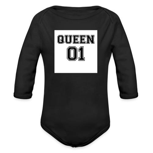 Queen 01 - Body Bébé bio manches longues