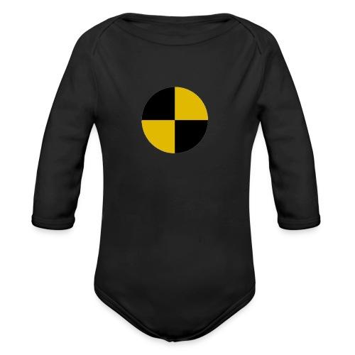 crash test - Organic Longsleeve Baby Bodysuit