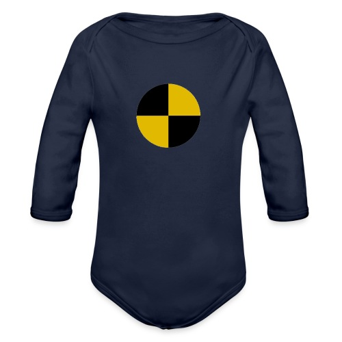 crash test - Organic Longsleeve Baby Bodysuit