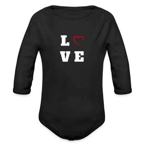 Love 2 - Body Bébé bio manches longues