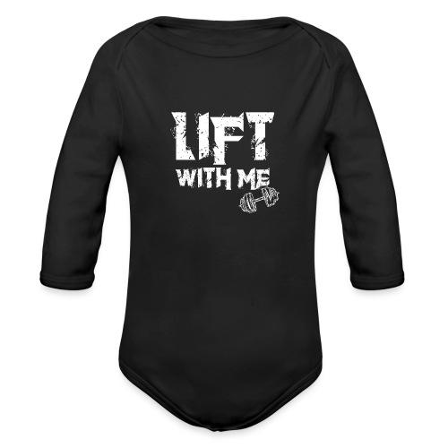 Lift With Me - Body ecologico per neonato a manica lunga
