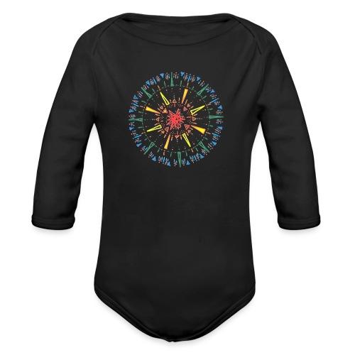 Attention - Organic Longsleeve Baby Bodysuit