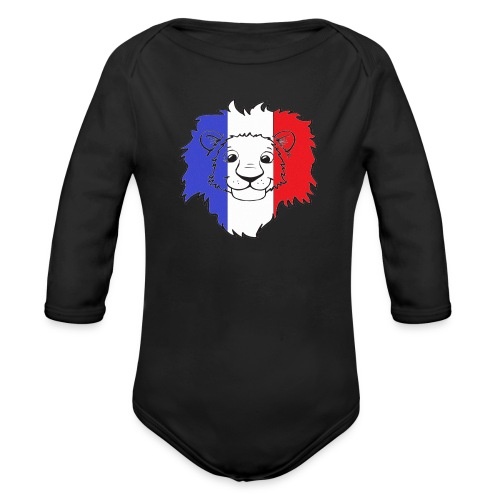 Lion France - Body Bébé bio manches longues