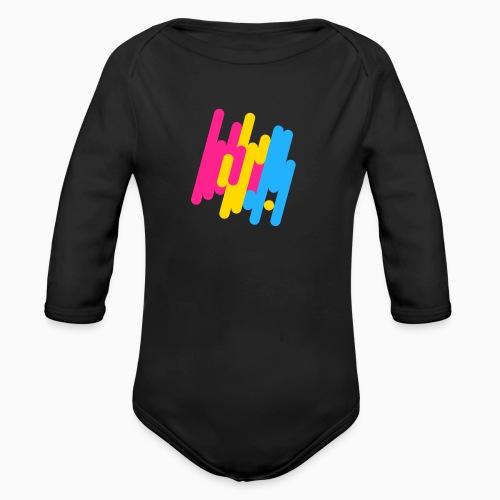 Abstract Panic Design! - Organic Longsleeve Baby Bodysuit