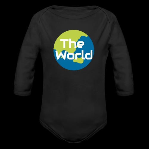 The World Earth - Langærmet babybody, økologisk bomuld