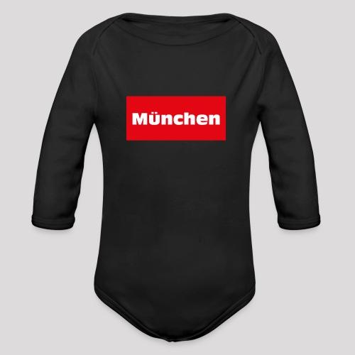 München - Baby Bio-Langarm-Body