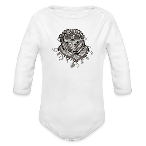 Krieger - Baby Bio-Langarm-Body